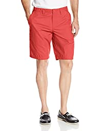 Columbia Men\'s Big-Tall Washed Out Short, Sunset Red, 38x10