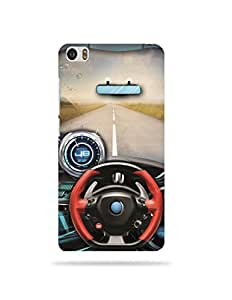 alDivo Premium Quality Printed Mobile Back Cover For Xiaomi Redmi Mi5 / Xiaomi Redmi Mi5 Printed Inside my Car Mobile Case / Cover (MKD069)