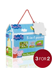 3-in-1 Peppa Pig™ Puzzle Game