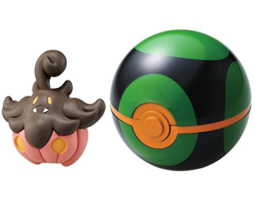 Pokemon Monster Collection B-09 Dark Ball & Baketcha - 1