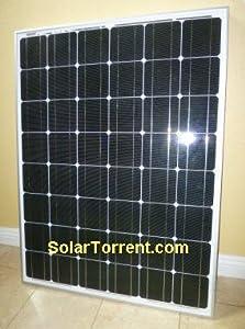 New, 130 (170W?) Watts Solar Panel, Monocrystalline