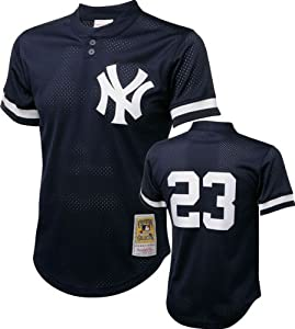 MLB Don Mattingly New York Yankees #23 Mitchell & Ness 1995 Authentic Cooperstown... by Mitchell & Ness