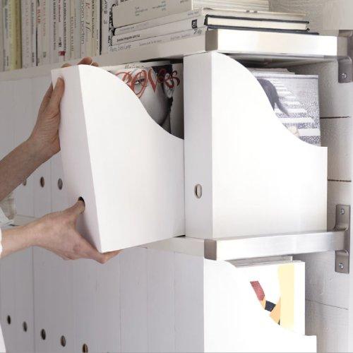 10 ikea magazine holders file rack stand holder office - Desk organizer ikea ...