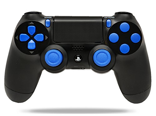 BlackBlue-PS4-Playstation-4-Rapid-Fire-Modded-Controller-for-COD-Black-Ops-3-AW-Ghosts-Destiny-Battlefield-Quick-Scope-Drop-Shot-Auto-Run-Sniped-Breath-Mimic-More