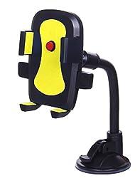 LipiWorld Hot Selling Car Mobile Holder/Stand Mount Bracket Holder Stand-Yellow