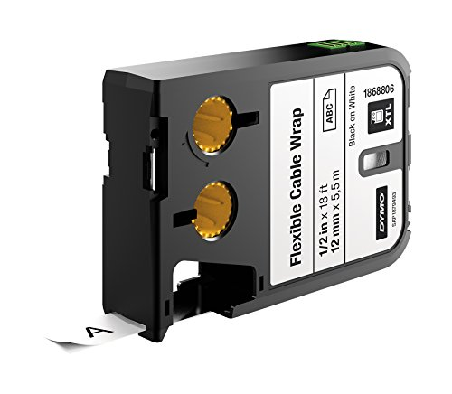 dymo-xtl-flexible-cable-wrap-1-2-12-mm-black-on-white