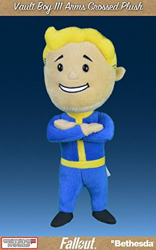 Fallout 4 Plush Figure Vault Boy 111 Arms Crossed 30 cm Gaming Heads Peluches
