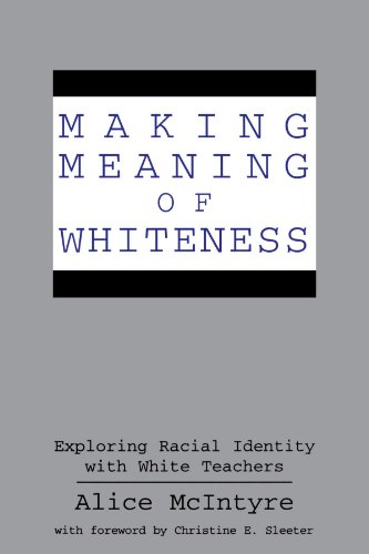 critical whiteness in education Whiteness and education white studies became popularized in the mid-1990s as an effort to understand and antiracist studies, critical race theory, and whiteness studies work together to dismantle the power and privilege of white identity by exploring and legitimizing its prevalence in an.