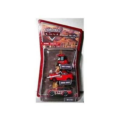 Buy Low Price Mattel Disney / Pixar CARS 1:55 Die Cast Figure 3-Pack Team No Stall (Shirley Spinout, Roman Dunes and No Stall) (B001EWHRE0)