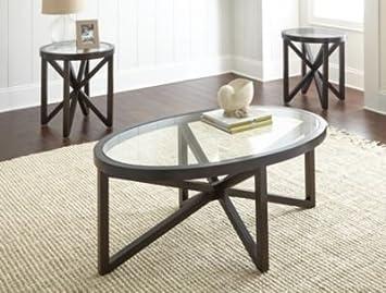 Brayden Studio High Quality Starboard 3Piece Coffee Table Set