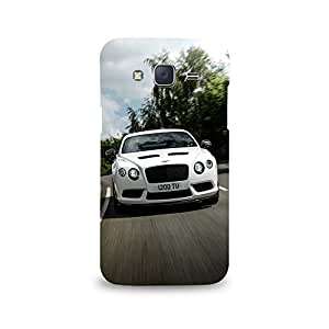 Mikzy Whiye Bentley Printed Designer Back Cover Case for Samsung J5
