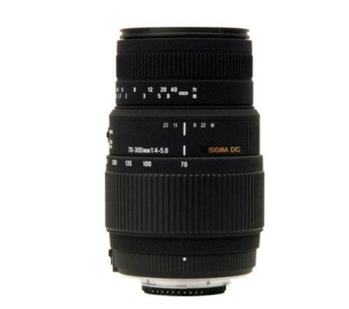 SIGMA 70-300 mm F4-5.6 DG Macro Motorised Lens + 58 mm UV filter - clear (305802)