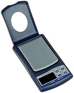 "Salter-Brecknell PB500 Pocket Balance with LCD Display, 3"" Length x 2-25/64"" Width,  500g Capacity"