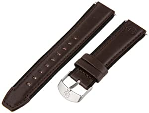 Timex Men's Q7B804 Expedition Sport Genuine Leather 18mm Brown Replacement Watchband