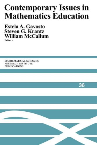 Contemporary Issues in Mathematics Education