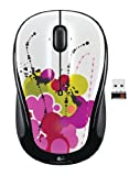 Logitech M325 cordless Mouse White Ink USB