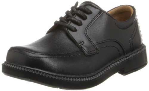 Florsheim Kids Billings JR Uniform Oxford (Toddler/Little Kid/Big Kid),Black,5 W US Big Kid