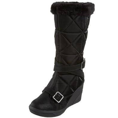 Amazon.com: BEBE SPORT Women's Bon Ton-Snow Bunny Boot,Black,5.5 M US