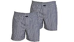 Careus Men's Cotton Boxers (Pack of 2)(1013_1013_Multi-coloured_Medium)