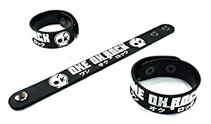 Amazon.com : ONE OK ROCK New Bracelet Rubber Wristband Kanjou Efekuto