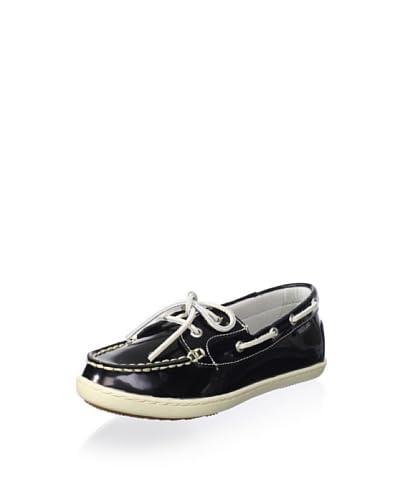Eastland Women's Rosy Boat Shoe  - Black Patent