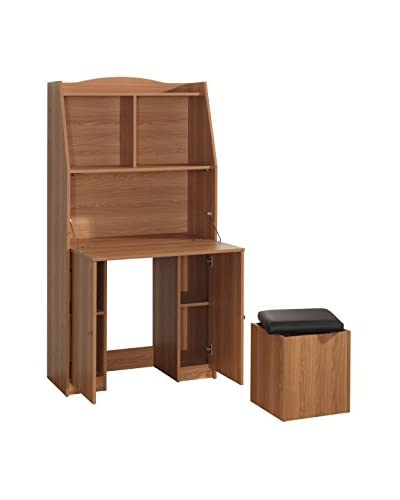 Techni Mobili Computer Armoire, Pine