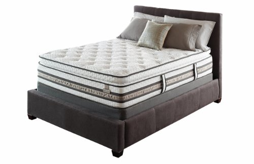 Queen Size Pillow Top Mattress Set back-14217