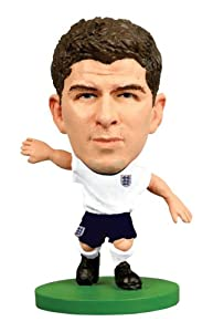 SoccerStarz England International Figurine Blister Pack Featuring Steven Gerrard in England's Home Kit by Creative Toys Company