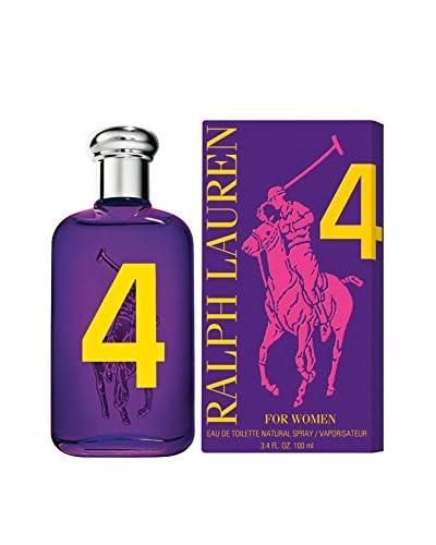 Ralph Lauren Women's Polo Big Pony 4 Eau de Toilette Spray, 3.4 fl. oz. As You See