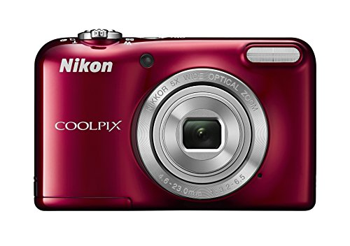 nikon-coolpix-l31-compact-digital-camera-161-mp-5x-optical-zoom-27-inch-lcd-red