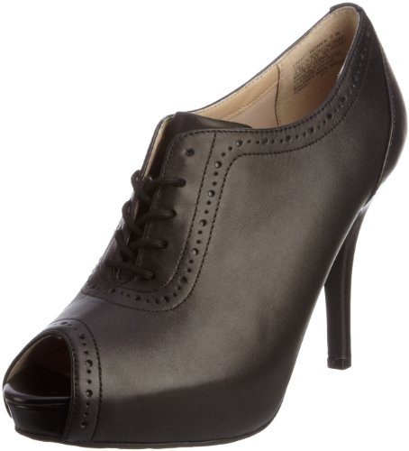 Rockport Women's Sasha Brogue Shootie Black Booties Heels K58227 6 UK