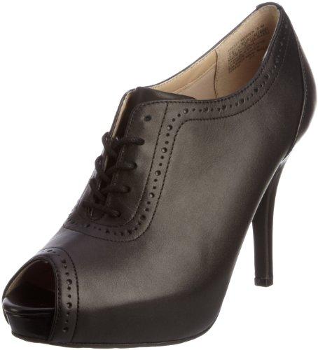 Rockport Women's Sasha Brogue Shootie Black Booties Heels K58227 6 UK