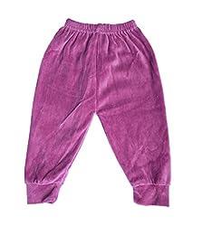 Upside Down Velvet Pants( SPPURPLE_Purple18-24 Months)