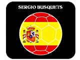 Sergio Busquets (Spain) Soccer Mouse Pad