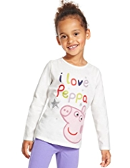 Pure Cotton I Love Peppa T-Shirt