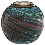 Evergreen-2LA332-550-in-Metallic-Spirals-Glass-Firepot