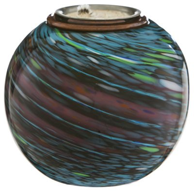 Evergreen-2LA332-550-in-Metallic-Spirals-Glass-Firepot