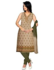 Elan Vital Women's Cotton Straight Salwar Suit - B0188YG3PK