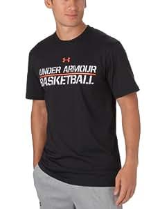Under Armour Bball Pregame T-Shirt homme Noir M