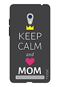 Noise Keep Calm And Love Mom Printed Cover For Asus Zenfone 6