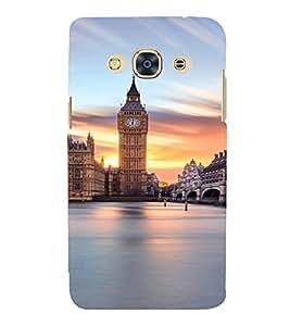 PrintVisa Travel London Big Ben Design 3D Hard Polycarbonate Designer Back Case Cover for SAMSUNG GALAXY J3 PRO