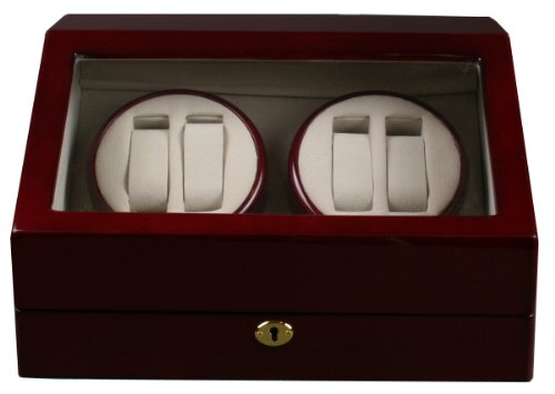Kendal Top Quality Quad Watch Winder 4+6 Storage Box Case
