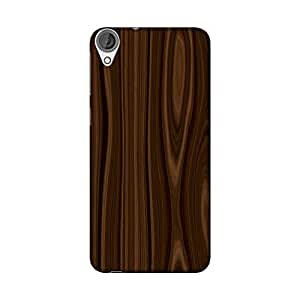 Wrapit Pattern Wooden Hard Back Case Cover For HTC Desire 820
