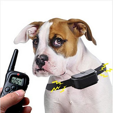 A1 Remote Pet Training Collar With Lcd Display Black