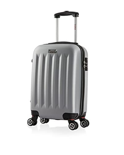InUSA Philadelphia 19″ Carry-On Hardside Luggage, Grey