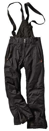 Northland Professional Damen Hose Skibase Long Thermo, black, 42, 02-04573