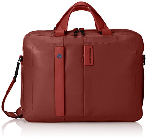 Piquadro CA3347P15/R Cartella, Linea Pulse, Rosso, 41 cm