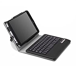 MoKo Wireless Bluetooth Keyboard Cover Case for LG G Pad F 8.0 inch [AT&T Model V495 / T-Mobile Model V496 / US Cellular Model UK495] & LG G Pad F 2 8.0 [V498] 4G LTE Android Tablet, BLACK