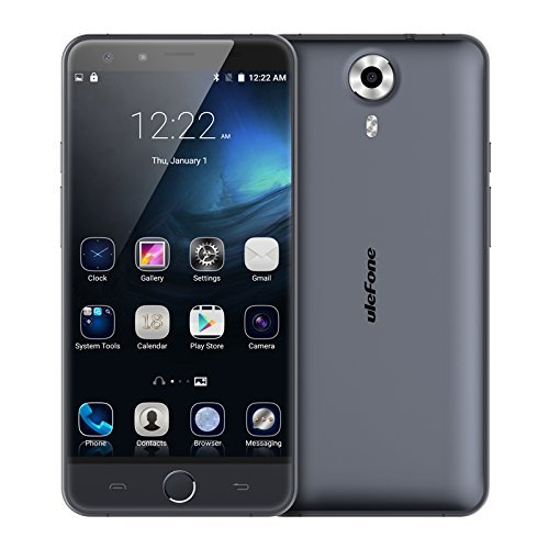 Ulefone Be Touch 3, ROM 16GB+RAM 3GB, 5.5 inch Android 5.1 4G Unlocked Smart Phone (Grey)