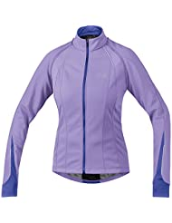 Gore Bike Wear Phantom 2.0 SO Lady Jacket - Violet / Speed Blue - 42 - Womens versatile Windstopper® softshell...